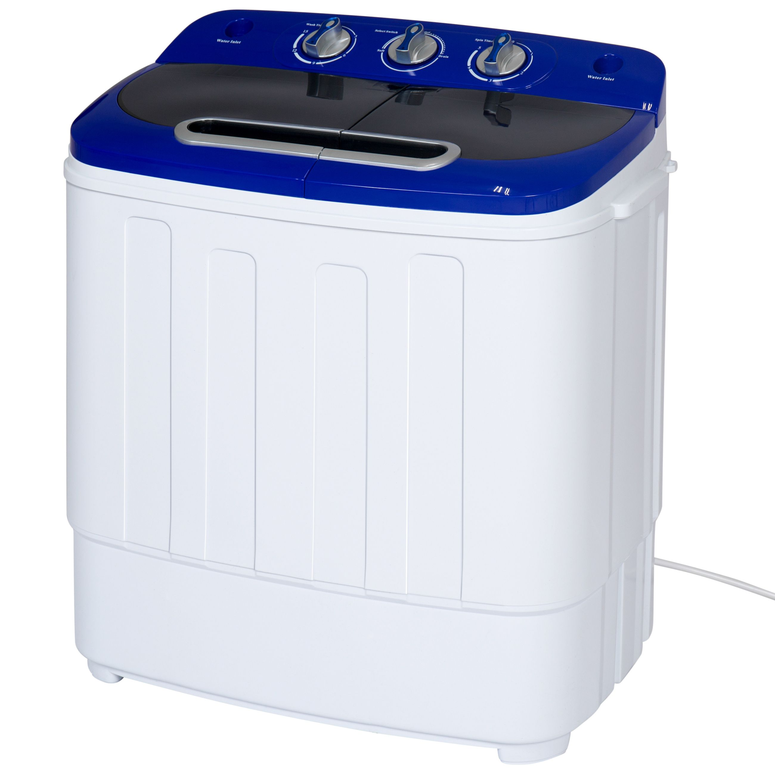 Best Choice Products Portable Compact Mini Twin Tub Washing Machine And Spin Cycle Dryer W Portable Washer And Dryer Portable Washing Machine Portable Washer