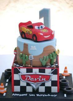 Lightning McQueen Cars Cake ideas Pinterest Car cakes