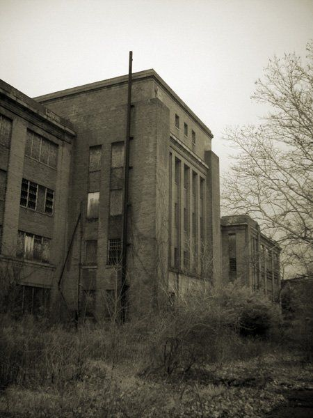 Philadelphia State Mental Hospital at Byberry. Demolished in 2006..... too bad we can't go here.