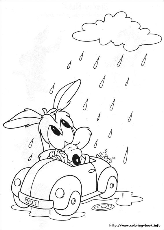 Baby Looney Tunes coloring picture | 1st bday project | Pinterest ...