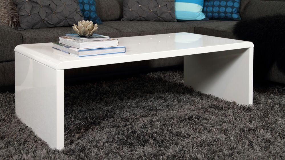 Luca white gloss coffee table in 2020 white gloss coffee