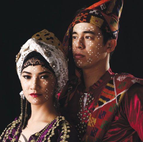 tausug costume female
