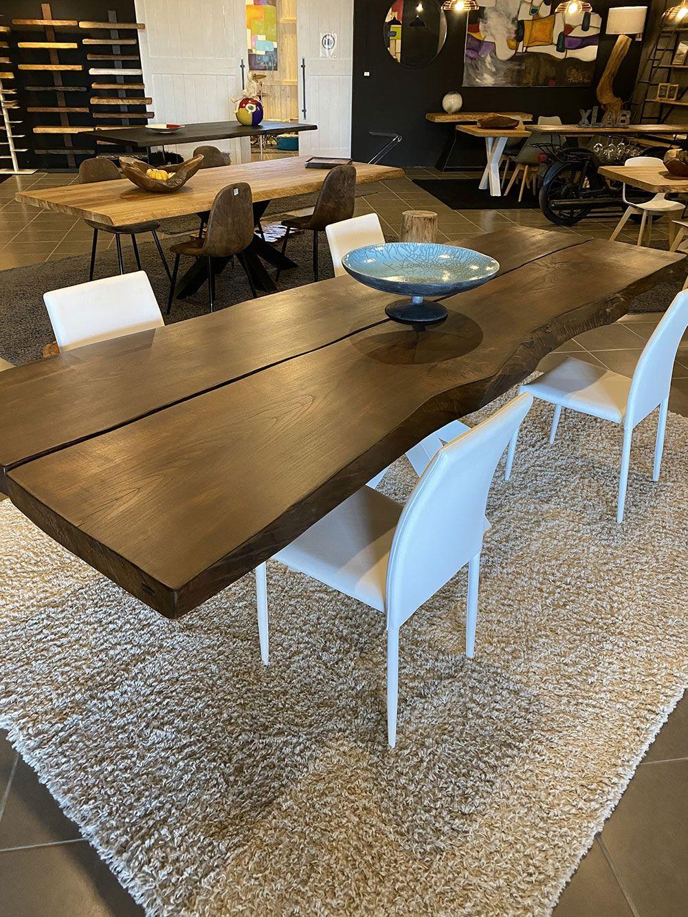 Tavolo legno massello 3 metri, realizzato a mano dai ...