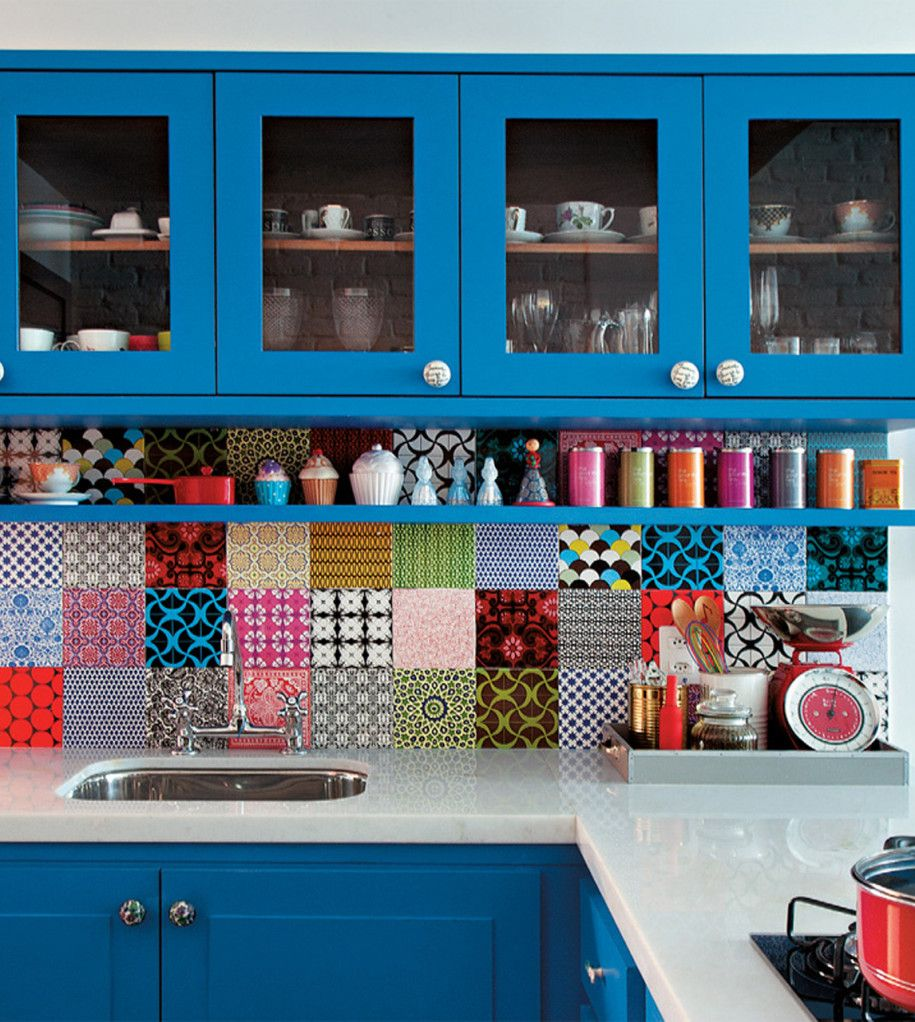 Kitchen Decorative Tiles 28 Colorful Kitchen Backsplash Ideas  Kitchen Backsplash