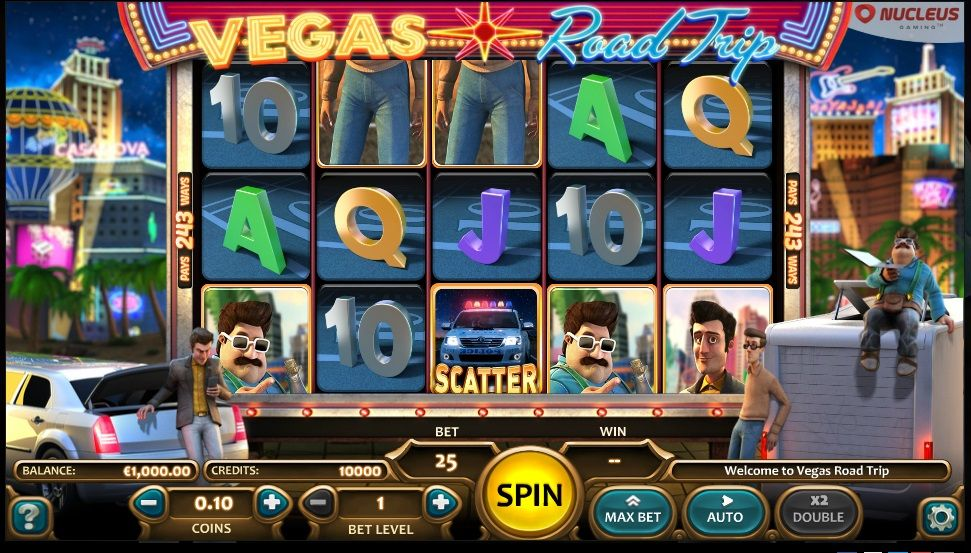 Vegas Road Trip Slots Trip has a lot to offer in terms of