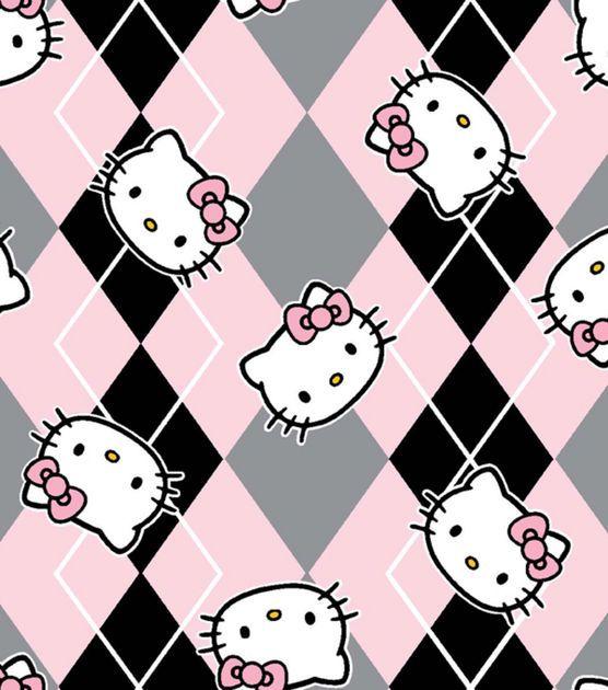 Licensed Cotton FabricHello Kitty Preppy Hello kitty