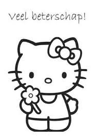 Kleurplaten Met Hello Kitty.Afbeeldingsresultaat Voor Puk Met Zakdoek Kleurplaat Hello