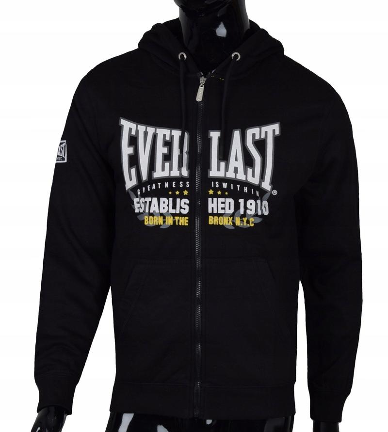 Bluza Sportowa Everlast Kaptur Czarna R Xl 7843310774 Allegro Pl
