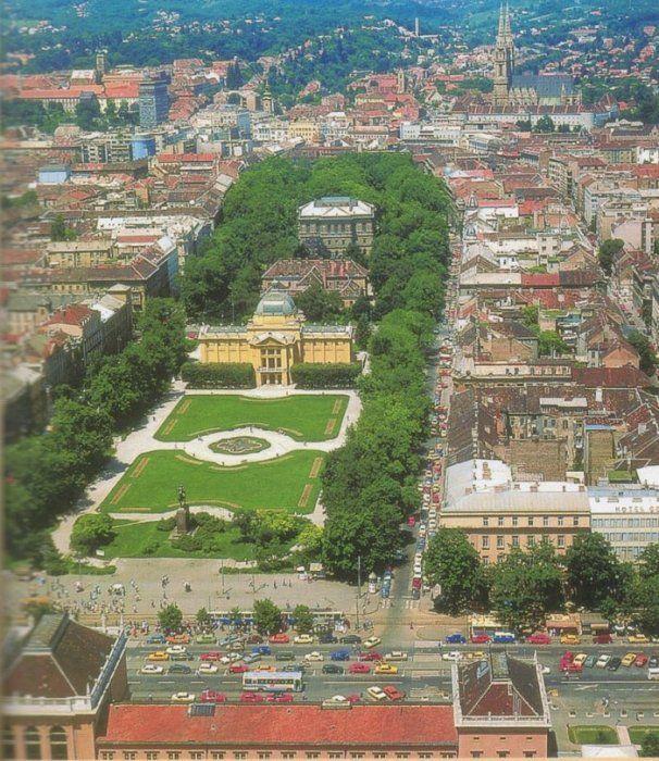 Croatia Travel Inspiration Zagreb The Capital City Of Croatia Croatia Travel Zagreb Croatia Wonders Of The World