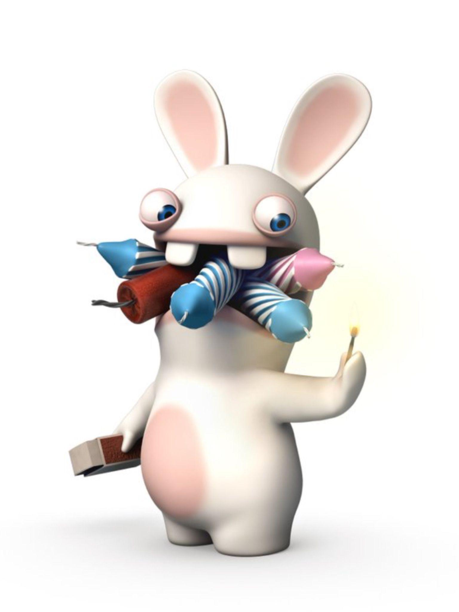 Смешные картинки бешеные кролики