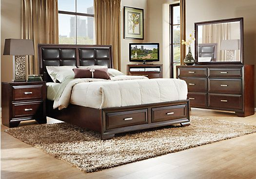 Shop For A Druid Hills 5 Pc King Storage Bedroom At Rooms To Go Find King Bedroom Sets That Bedroom Sets King Size Bedroom Furniture Sets Bedroom Sets Queen