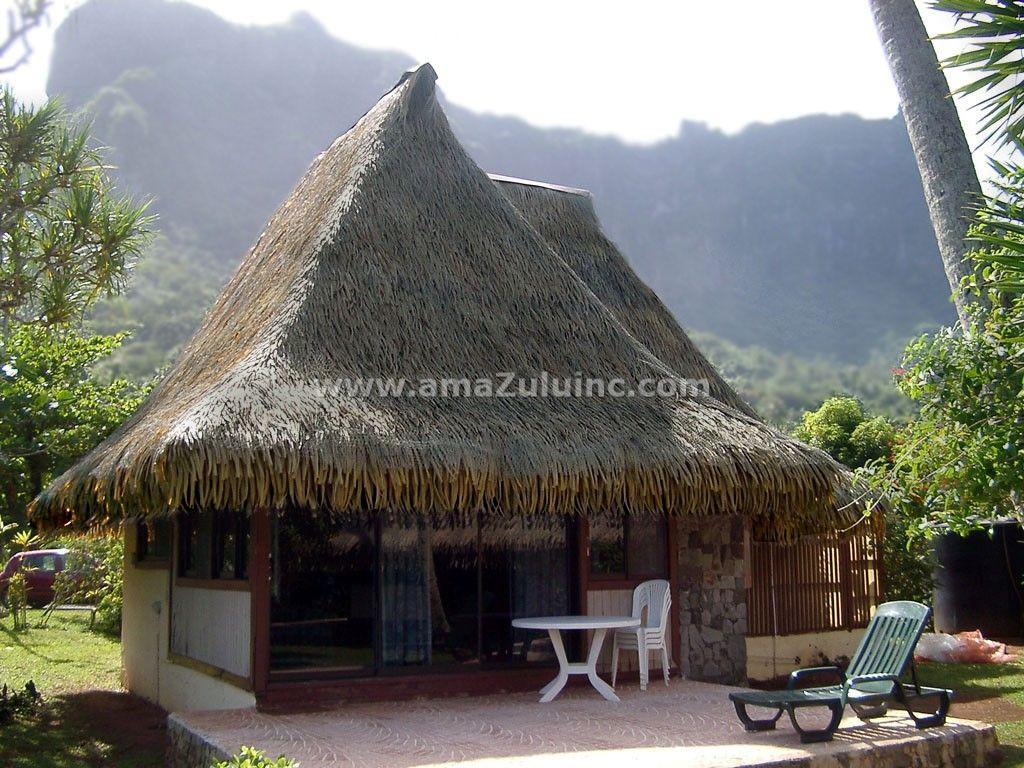 Club Bali Hai Bora Bora Aloha Palm Thatch By Amazulu Inc Thatch Thatched Roof Roofing