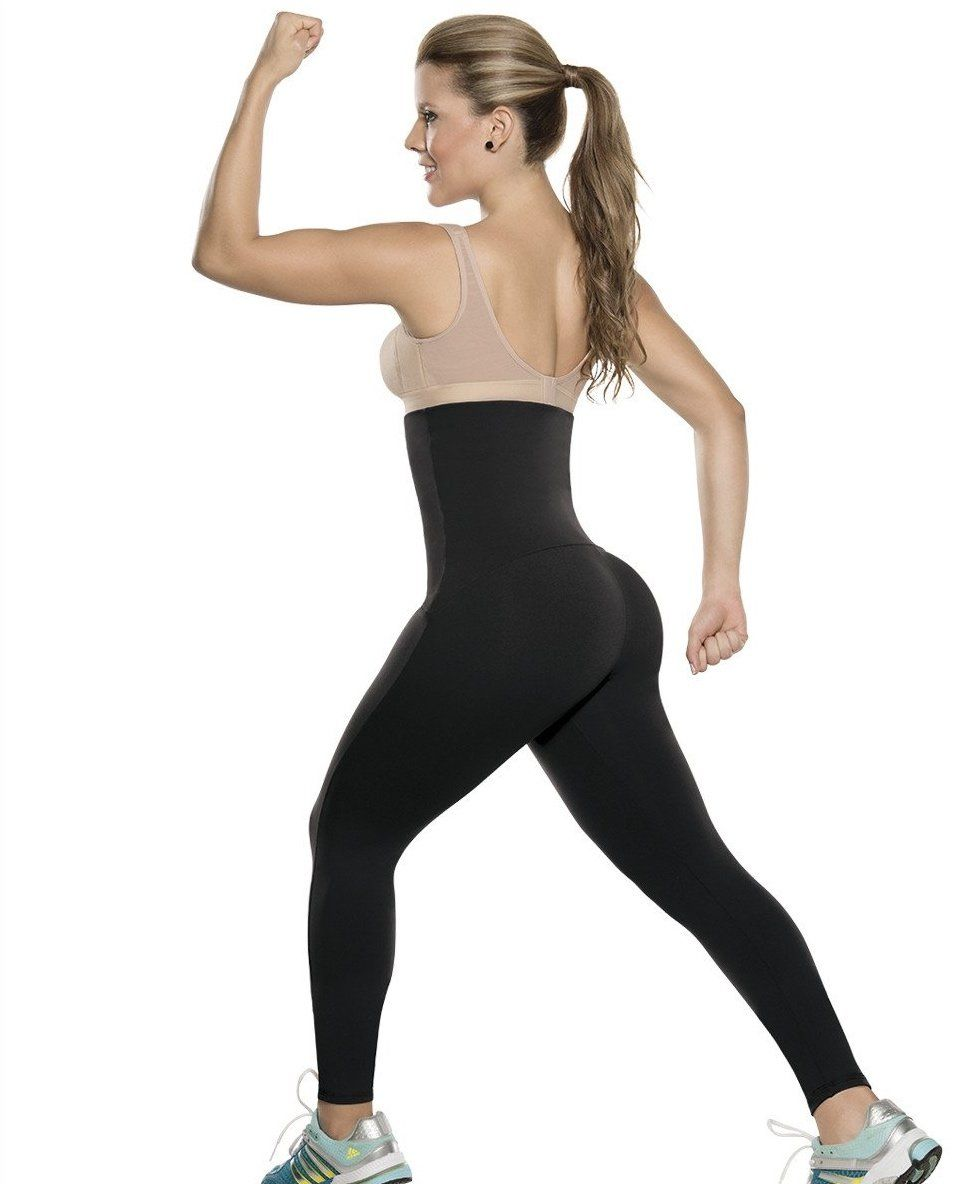 db3a7b89f3 Fajas Colombianas Waist Trainer   Leggings ALL IN-ONE Thermal Action Ref 078