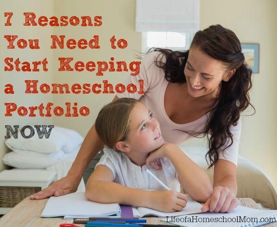 7 Reasons You Need to Start Keeping a Homeschool Portfolio Now ...