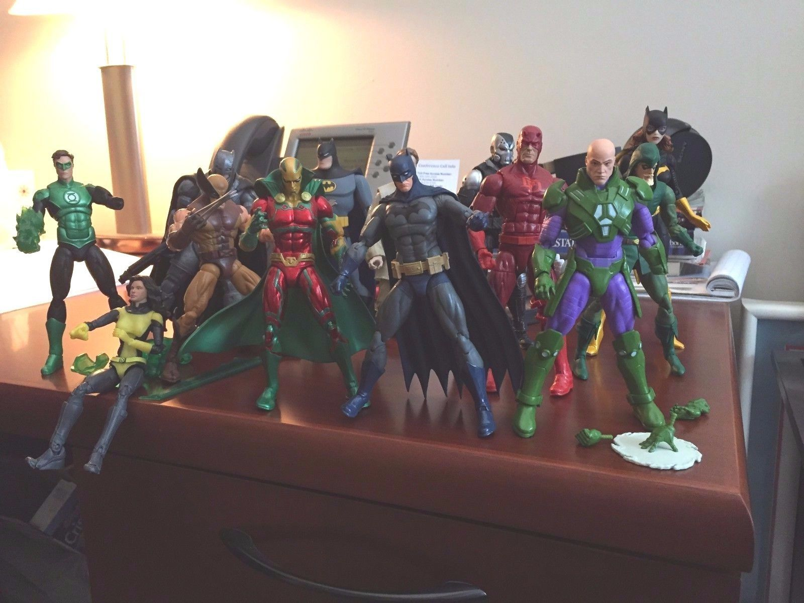 Awesome 1/12 Action Figure Lot Marvel Legends DC Icons Black Series