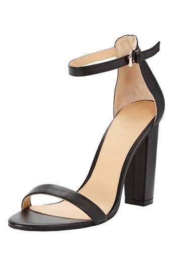 326c1567ef Lækre Shoebox Sandaletter Sort Shoebox Sko til Dame i dejlige materialer