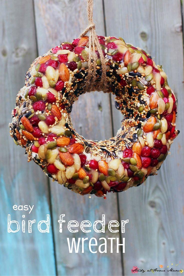 Bird house craft project