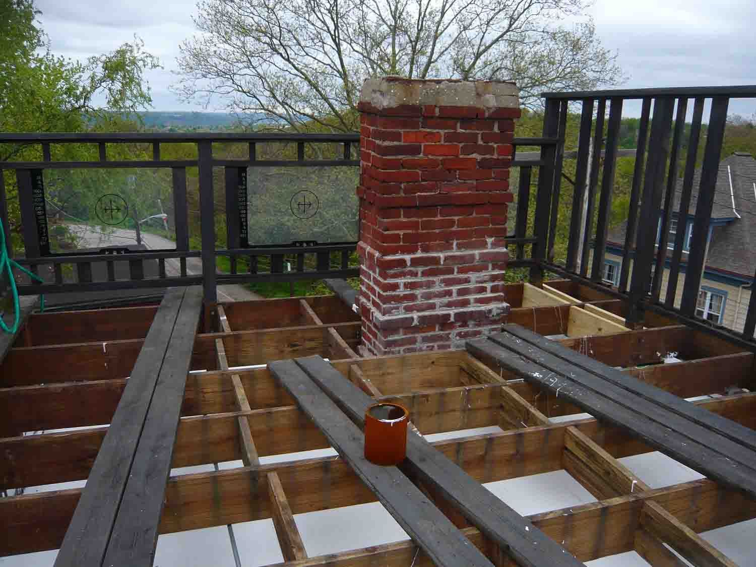 rooftop deck on pitched roof Google Search Arch 206
