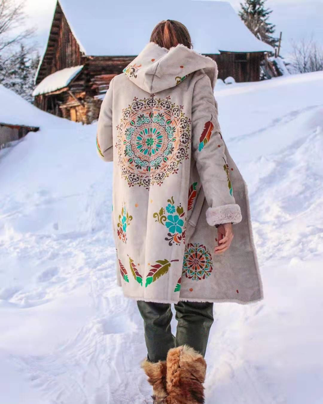 Bohemian Style Clothing Winter