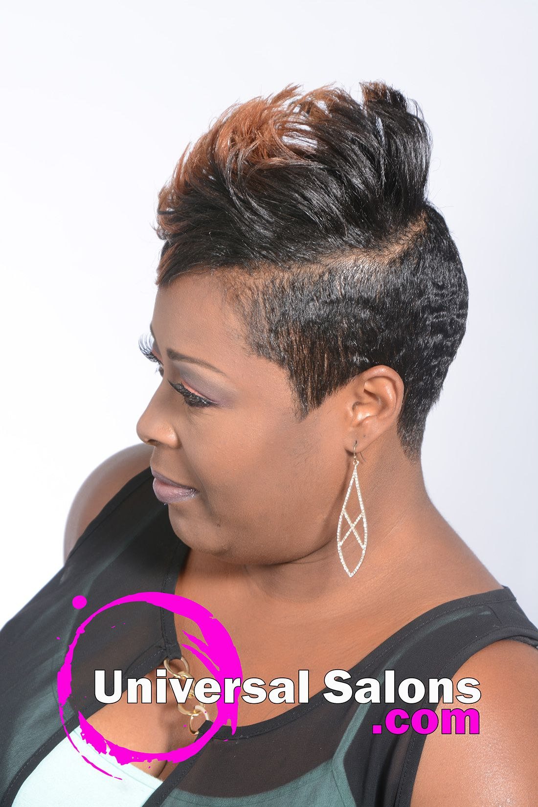 short hairstyle with tapered sides from kenya young | hair