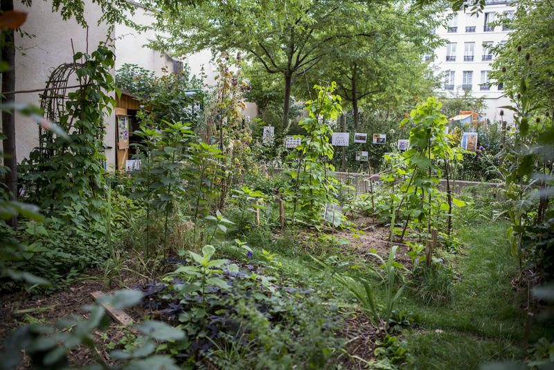 Jardin Anne Frank 14 Impasse Berthaud 75003 Paris M