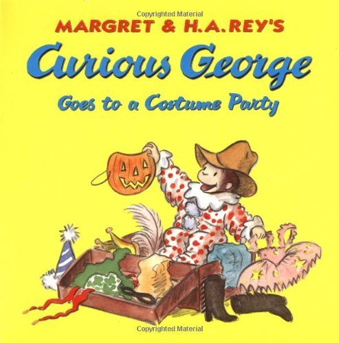 Bestseller Books Online Curious George Goes to a Costume Party ...