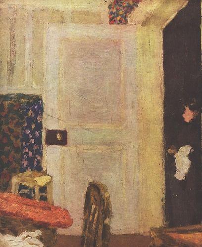 Edouard Vuillard La porte ouverte, Edouard vuillard et Porte ouverte - Peinture Porte Et Fenetre