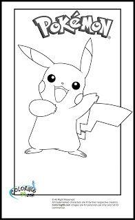 Pikachu Coloring Pages Coloring99 Com Pikachu Coloring Page Coloring Books Coloring Pages
