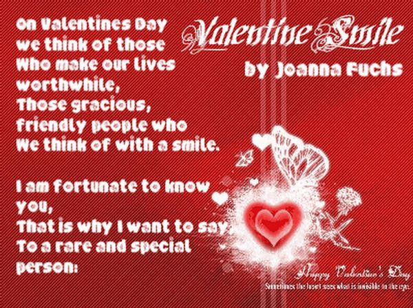 Valentines Day Poems For Girls On Valentines Day 2013 Valentine S