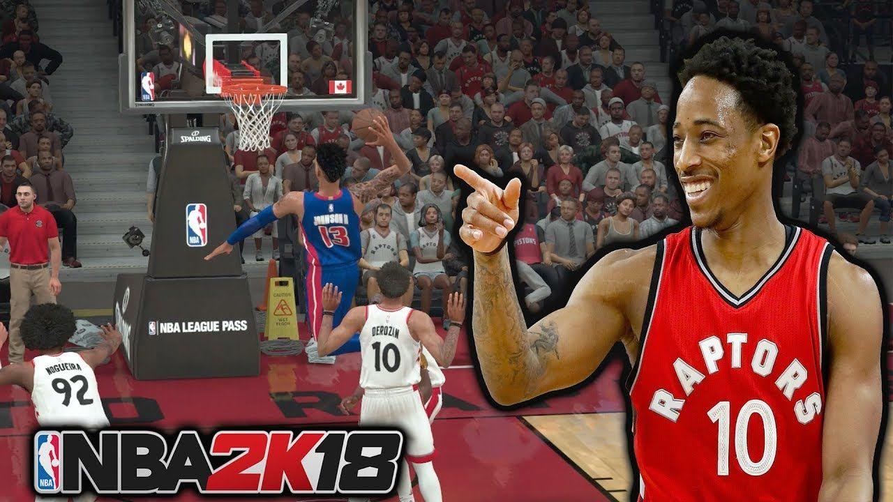 NBA 2K18 MyCAREER - DEMAR DEROZAN DISRESPECTED ME!
