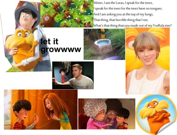 """""""the lorax"""" by abigailmep ❤ liked on Polyvore"""