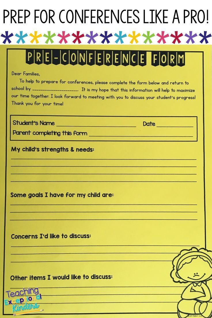 How to Prepare For Parent-Teacher Conferences