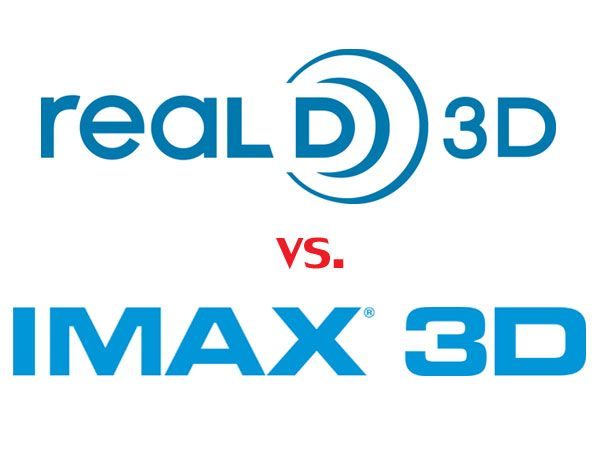See It In Real D 3d And Imax 3d Logotip