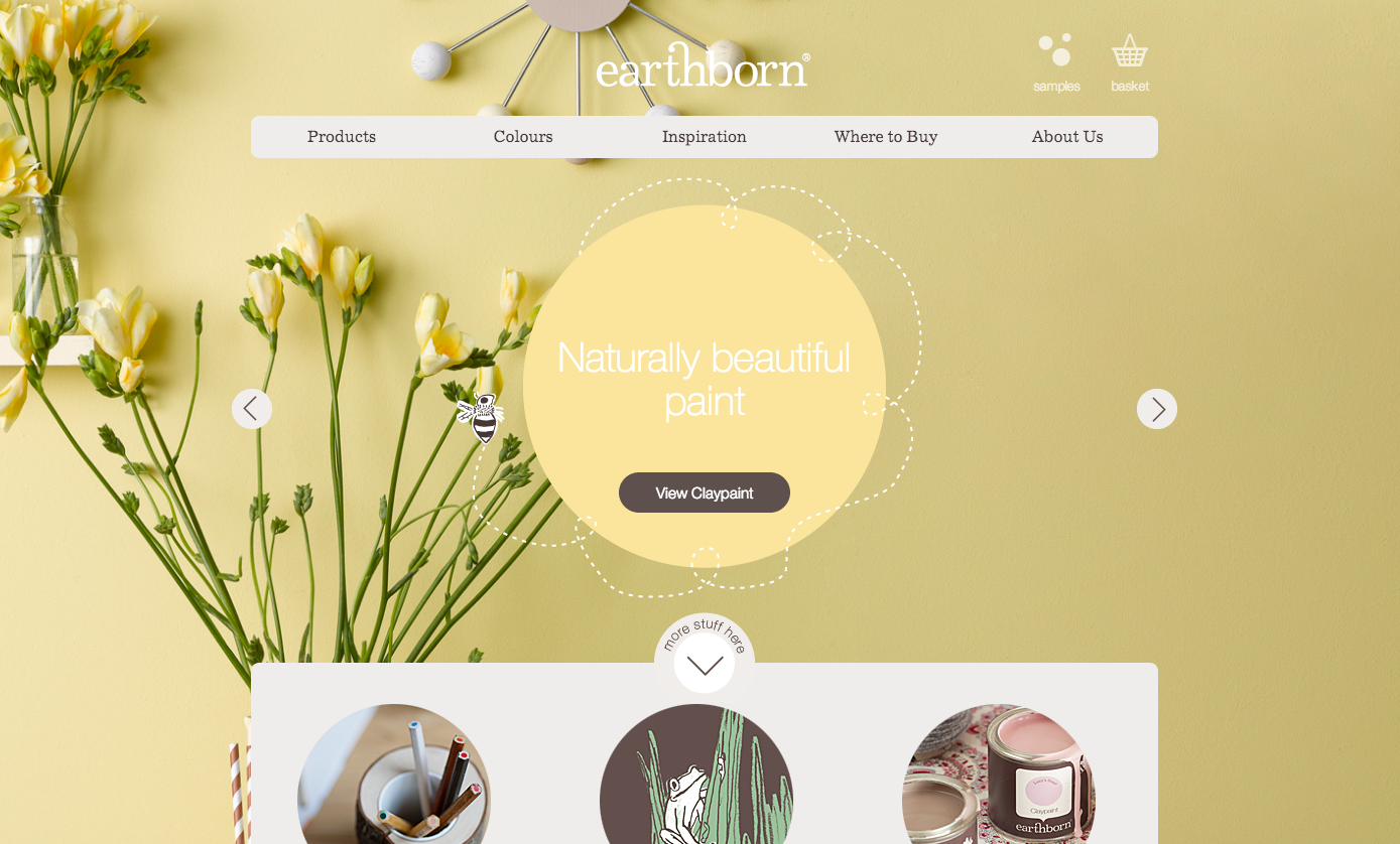 Beautiful commerce site for minimal product and it's Wordpress!