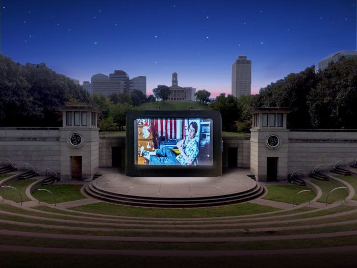 Photo of Watch A Movie Under The Stars At This Unique Outdoor Movie Theater In Nashville