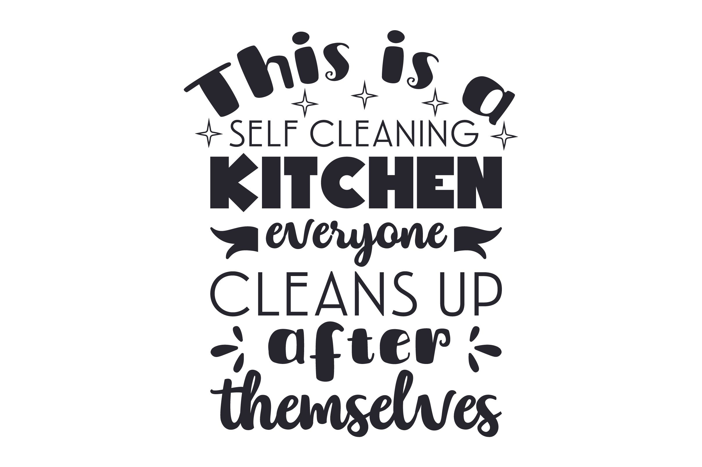 This Is A Self Cleaning Kitchen