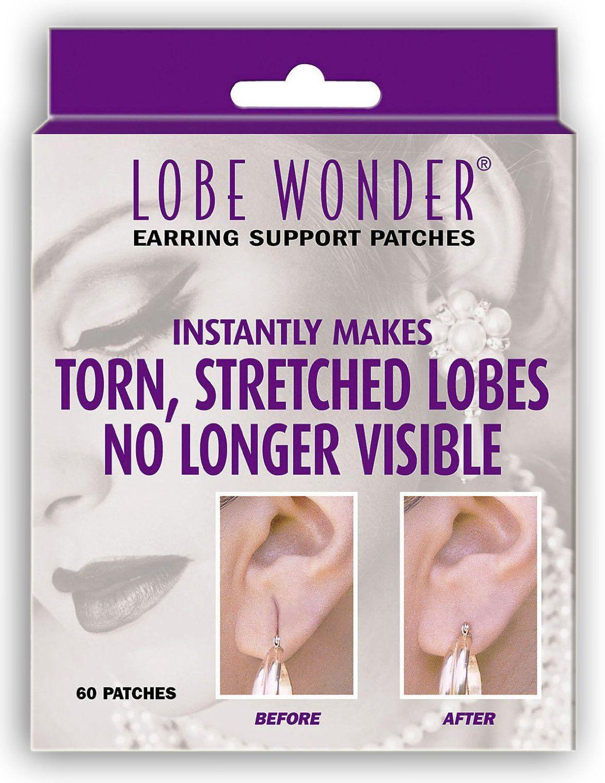Lobe Wonder Ear Repair -- Worn behind your ear lobe, these