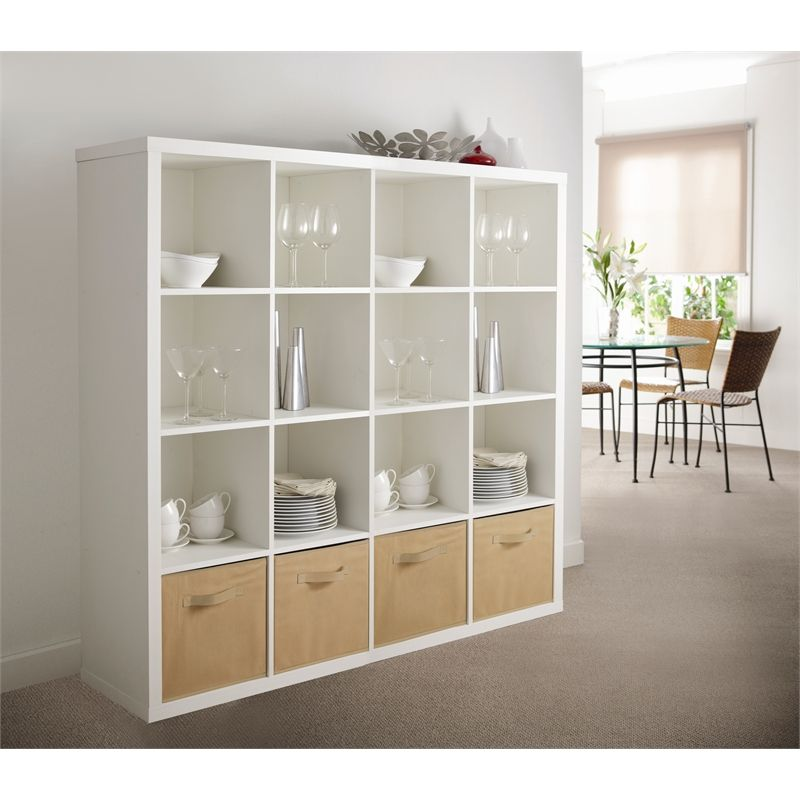 Cluedo 4 Cube Storage System White 58 00 Cube System With 4 Storage Compartments Product Details 12 Mon Bookcase Cube Storage Unit Cube Storage