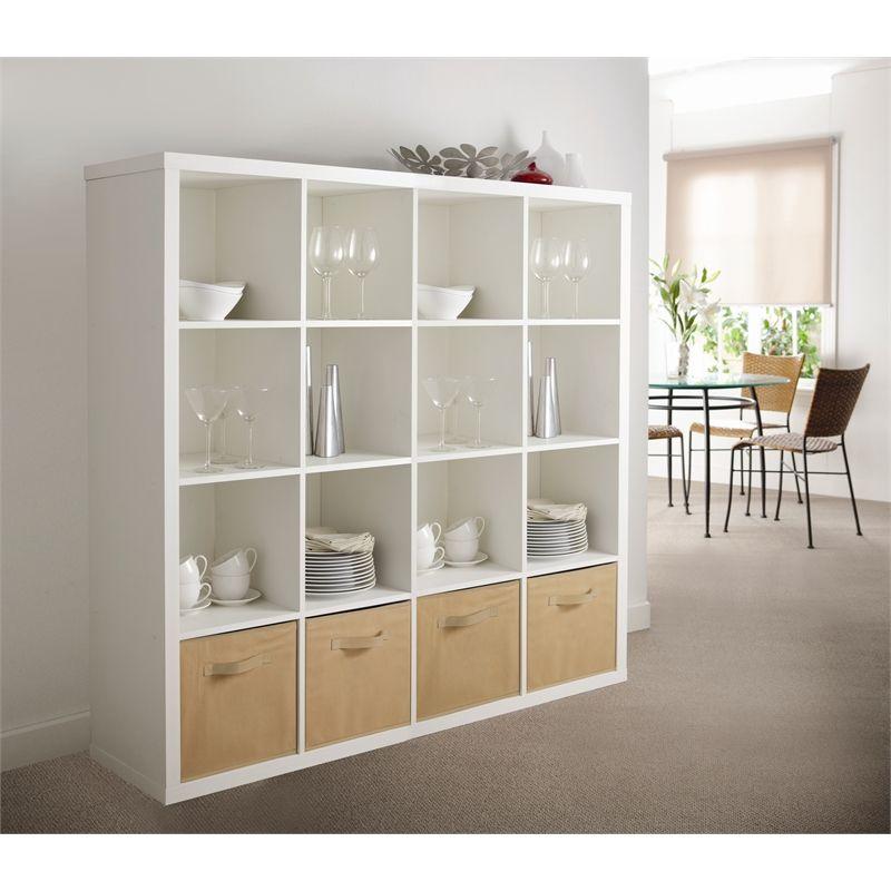 handy storage 4 x 4 clever cube storage unit i n 2581136. Black Bedroom Furniture Sets. Home Design Ideas