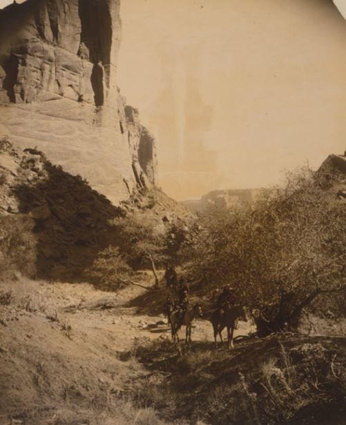 Indios navajos en el gran cañón  | Indian | Navajo nation