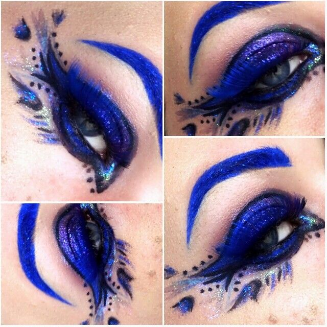 Cobalt blue eyes