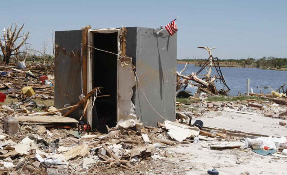 Can you tornadoproof a home safe room panic rooms