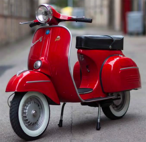 vespa gtr rosso corallo 880 originallack vespa vespa. Black Bedroom Furniture Sets. Home Design Ideas