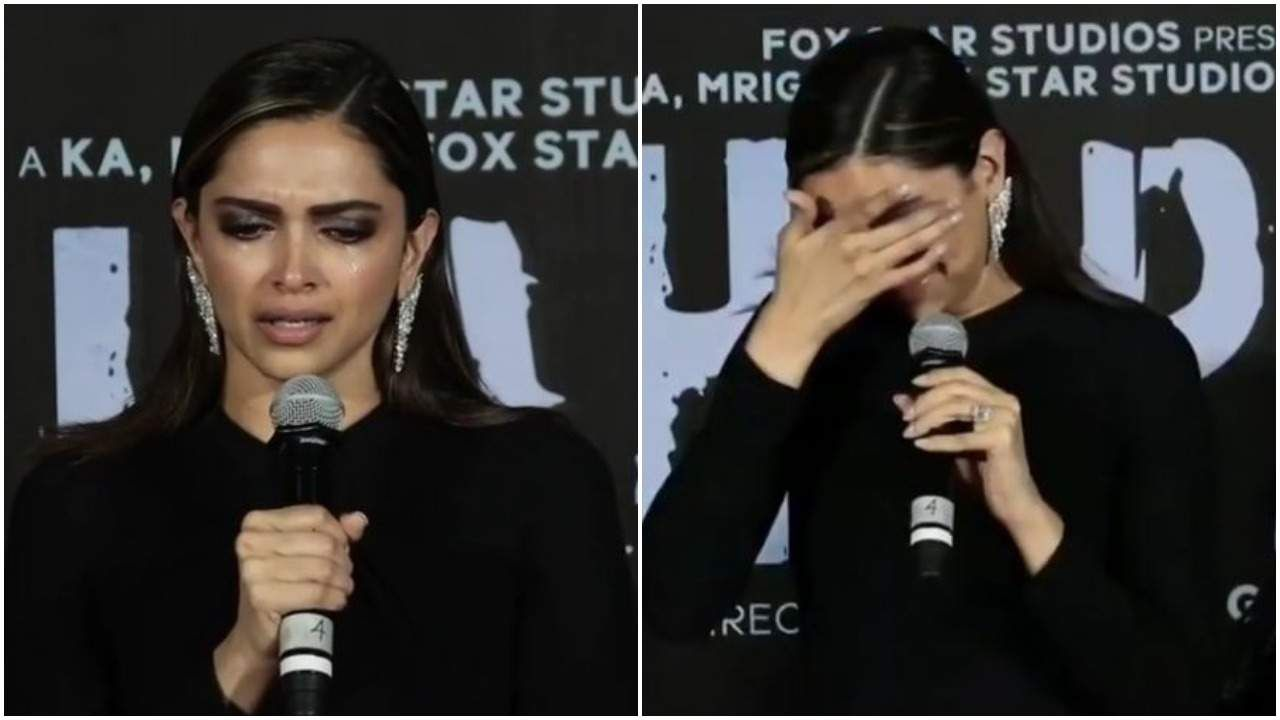 Deepika Padukone Breaks Down At The Launch Of Chhapaak S Trailer Latest Bollywood News Update Deepika Padukone Bollywood News Upcoming Movies