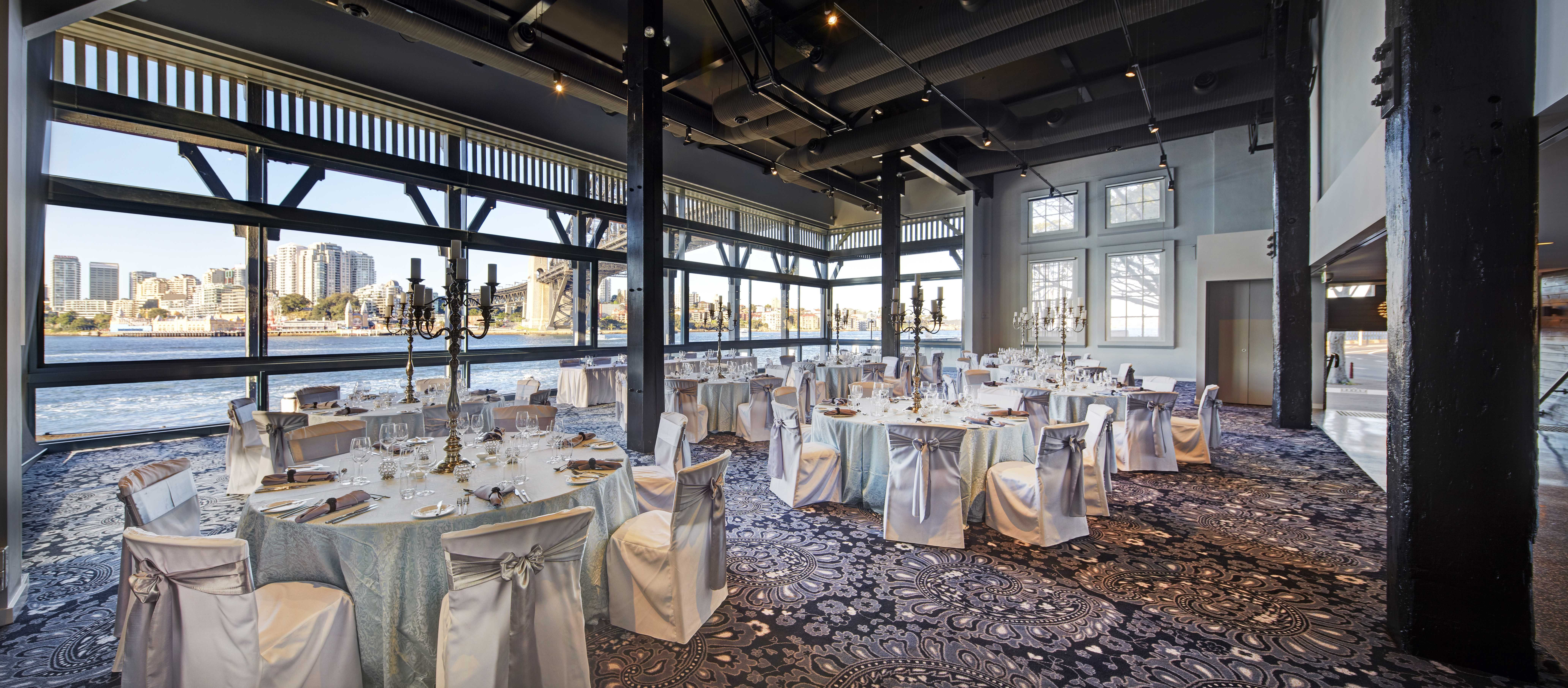 Water Pier One The Perfect Wedding Reception With Views Of Sydney Harbour