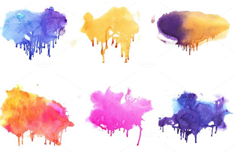 Watercolor Splatter Transparent Google Search Acuarela Haku