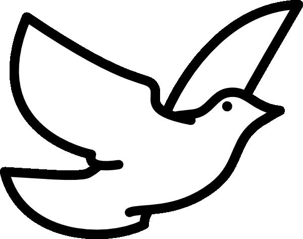 dove outline clip art bird outline colleen creenaune pinterest rh pinterest com Bird Silhouette Clip Art Simple Bird Clip Art