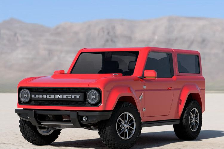 Best Look Yet At 2021 Ford Bronco Carbuzz Ford Bronco New