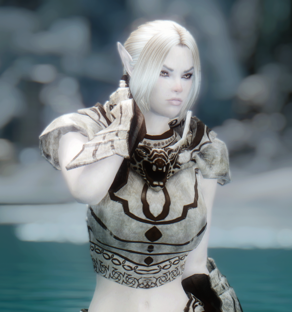 Mirielle - Standalone Snow Elf Follower at Skyrim Nexus - mods and