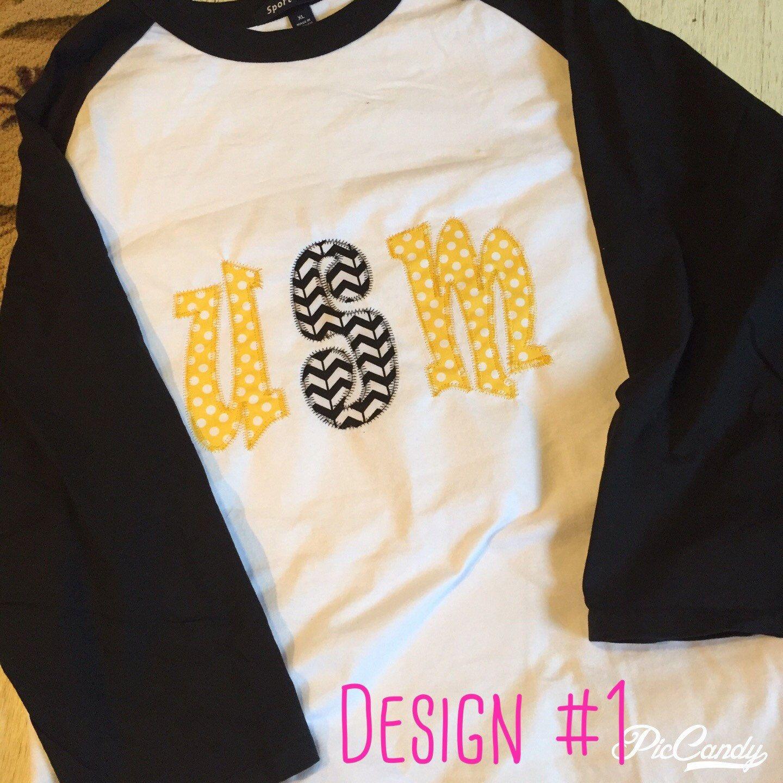 Usm university of southern mississippi usm applique for Southern designs